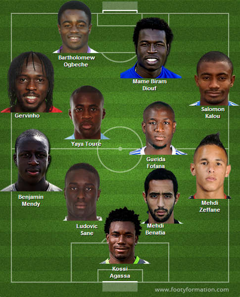 Africa Football Shop Team of the Week