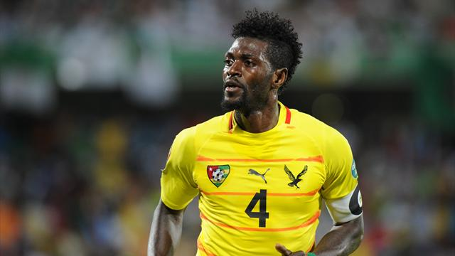 İstanbul Başakşehir striker Emmanuel Adebayor considering his international future