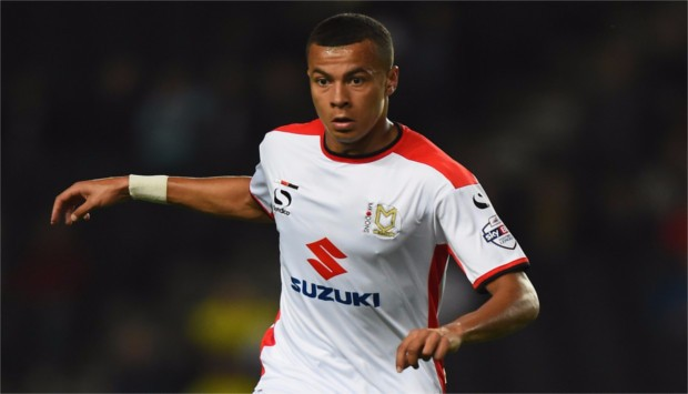 Dele Alli has scored 16 goals for MK Dons this season, and signed for Tottenham Hotspur in January.