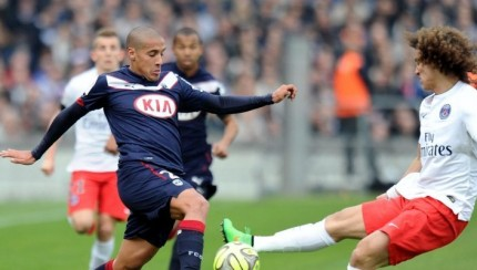 Tunisian Whabi Khazri in action against PSG.