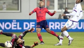 Mohamed Larbi slots past Anthony Lopes.